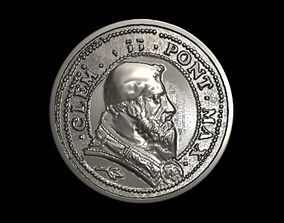 Vatican medalion 3 3D print model