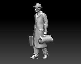 3D printable model passenger