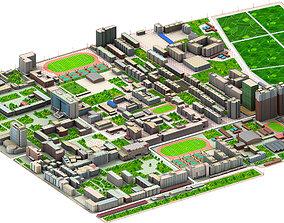 3D model Real city
