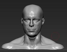 3D printable model Bruce Willis
