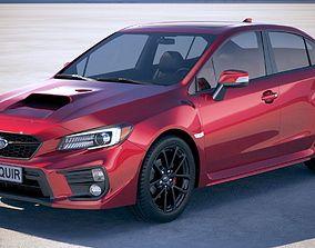 3D model Subaru Impreza WRX 2018
