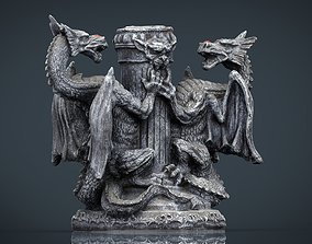 3D model Dragons Candle