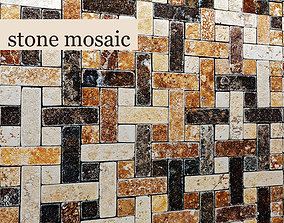 Stone mosaic 3D