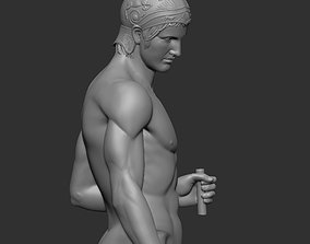Ares statue 3D print model