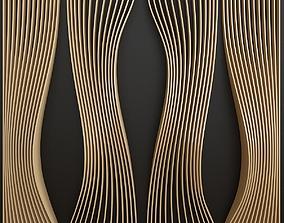 3D model parametric interior walls