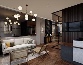 Office 3D InteriorDesign game-ready