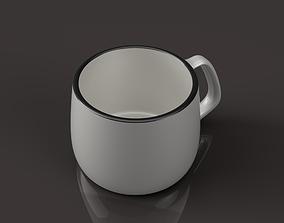 3D printable model Mug Porcelain
