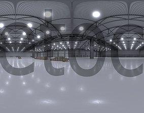 3D model HDRI - Warehouse Interior 3b