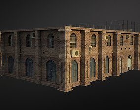3D model VR / AR ready Old Building