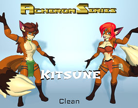 3D model Acheron Kitsune Clean