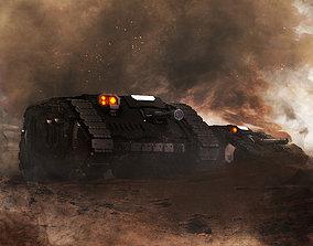 3D printable model Terran Aion Scout Vehicle