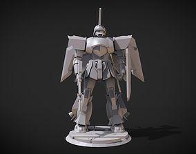 3D print model ZGMF-1017M2 GINN High Maneuver Type II