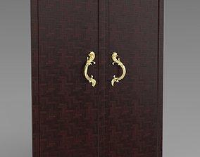 3D print model Gold door handle