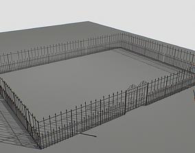 Railing Fence pack 2 3D asset