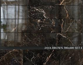 3D model Yurtbay Seramik Java Brown 300x600 Set 4