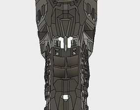 3D print model assault cruiser carrier