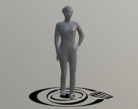 Human 072 LP R 3D asset