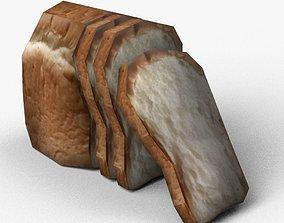 Bread 3D model VR / AR ready