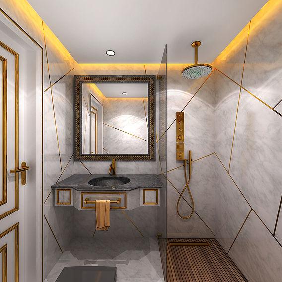 HOTEL ROOM DESIGN ARABIC STYLE