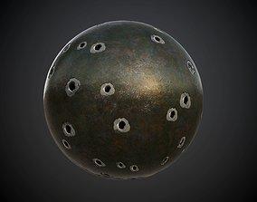 3D model Metal Army Green Seamless PBR Texture