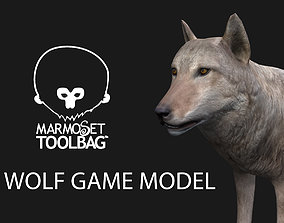 Wolf Game Model game-ready