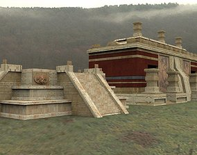 3D asset Mayan City Pack for Poser