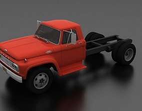 3D model F-Series F-600 Truck Chassis 1963