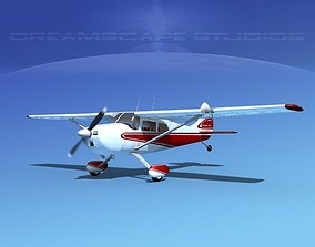Cessna 170 V08 3D model