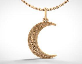 3D printable model printable muslim Muslim pendant