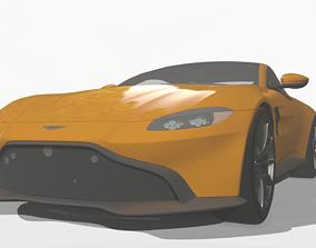 Aston Martin Vantage 2019 - UNITY3D VR / AR ready