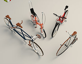 3D Low Poly Bike Pack 02
