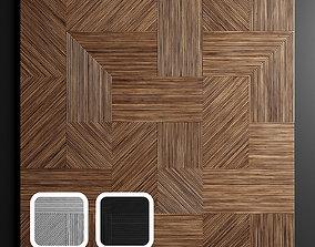 3D model Wooden panels 3
