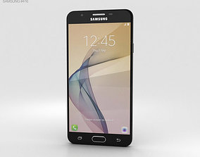 3D model Samsung Galaxy J7 Prime Black