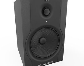 BX5 Speakers 3D asset