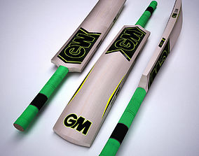 CRICKET BAT 3D model game-ready