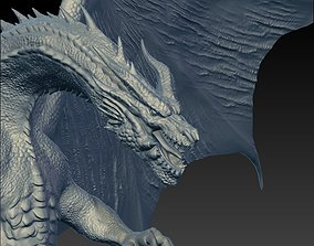 3D printable model Dragon fantasy-and-fictional-creature