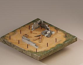 Building Foundation 3 3D model