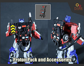 3D print model Proton Pack and Accessories for