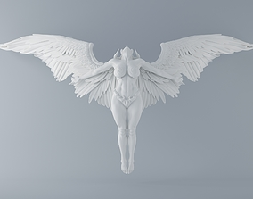 Evil angel 001 3D printable model