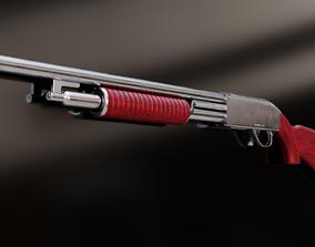 Pump Shotgun 3D model