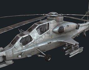CAIC WZ-10 3D model realtime