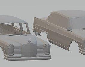 Mercedes 300 Sedan W112 Printable Body Car