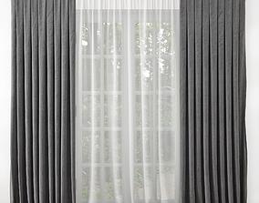 door Curtain 3D model