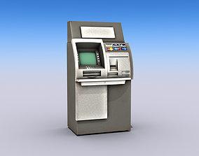 ATM - Automated Teller Machine 3D asset