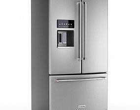 3D model KitchenAid 27 French Door Refrigerator