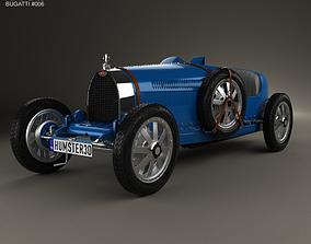 3D model Bugatti Type 35 1924