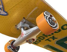 3D skateboard hobby