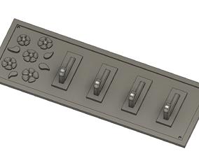 3D printable model Wall keys holder