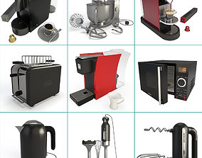 Small Kitchen Appliance Collection 3D