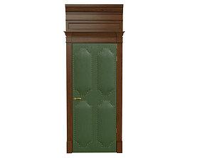 Classic wooden door 05 3D